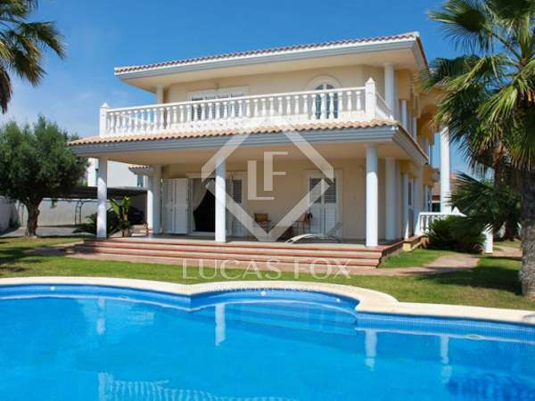 Magnífica villa en alquiler en La Eliana