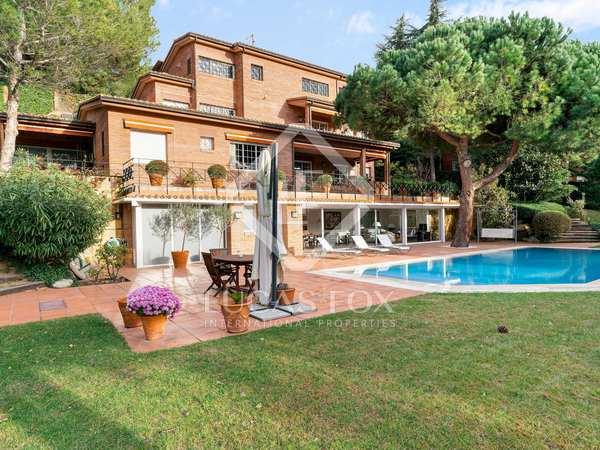 Luxury house for sale in Vallvidrera, Barcelona city
