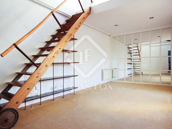 120 m² apartment with 20 m² terrace for rent in Justicia