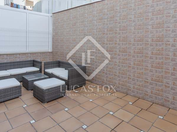 173m² Apartment with 40m² terrace for rent in Extramurs