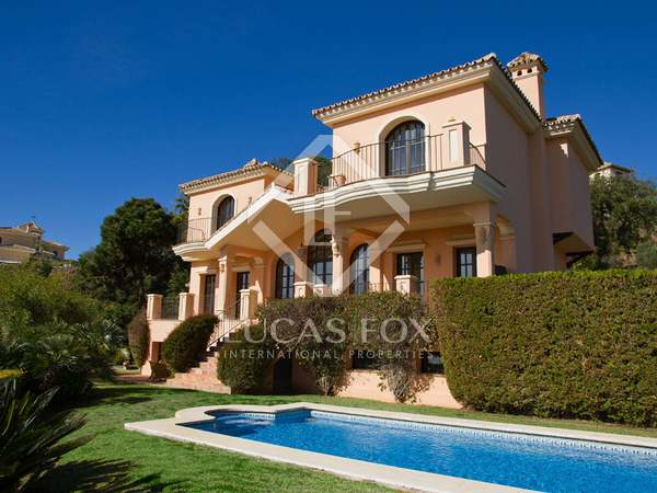 Beautiful villa to buy on huge plot in La Zagaleta, Marbella