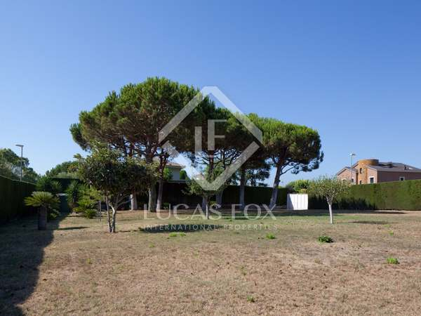 Building plot for sale in Can Teixidó on the Maresme Coast