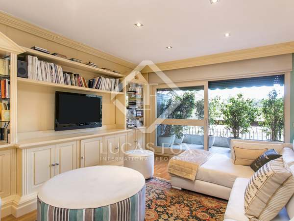 210m² apartment with terraces for rent in Turó Park