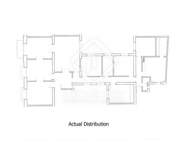 Piso de 215 m² en venta en Almagro, Madrid