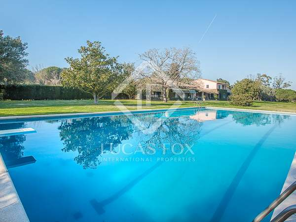 Large country estate for sale in Baix Emporda