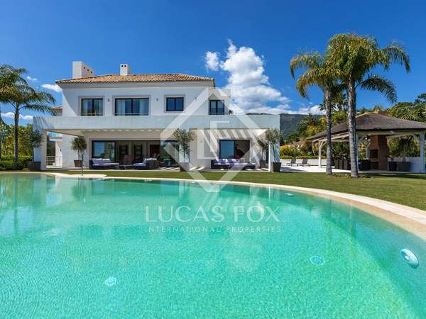 Impressive contemporary villa for sale, La Zagaleta Marbella