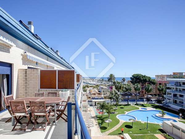 119 m² apartment with 20 m² terrace for sale in Dénia
