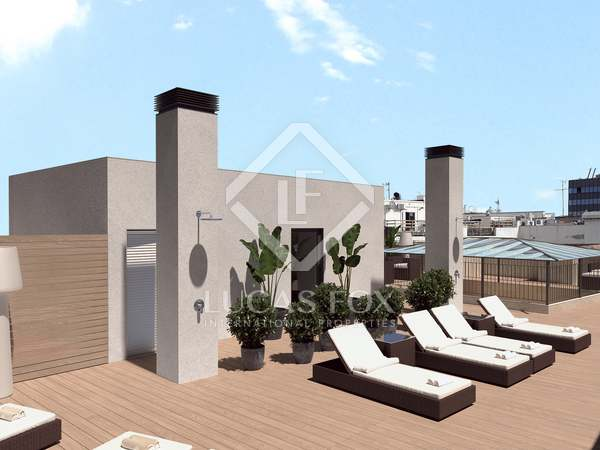 103m² Penthouse with 25m² terrace for sale in Gótico