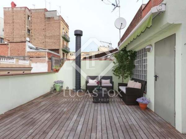135m² Apartment with 34m² terrace for sale in Gràcia