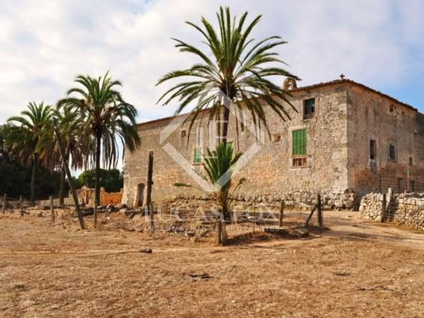 Casa rústica de lujo en venta en el centro de Mallorca.