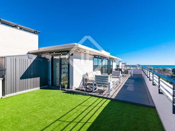 Penthouse van 130m² te koop met 95m² terras in Sitges Town