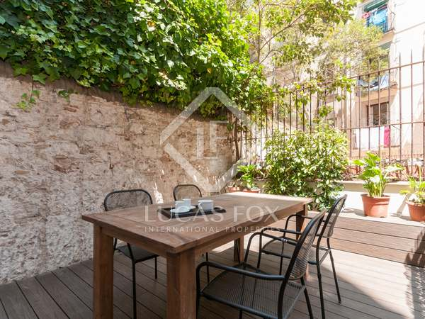 138m² Apartment with 30m² terrace for sale in Gótico
