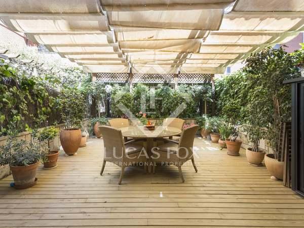 Casa de 240 m² con terraza de 53 m², en venta en El Putxet