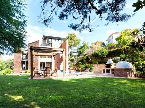 600m² Haus / Villa mit 780m² garten zum Verkauf in Vallvidrera