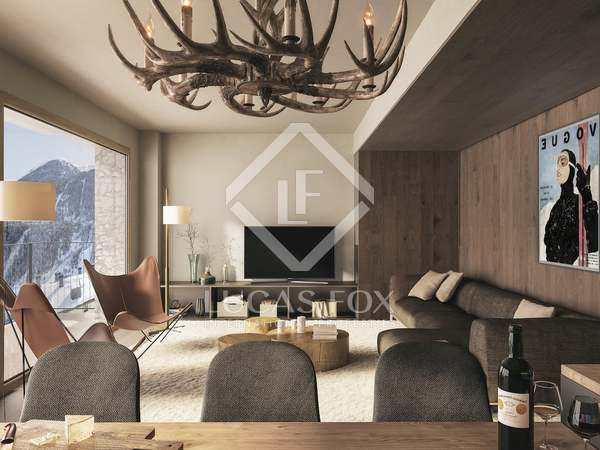 120m² Apartment with 8m² terrace for sale in Grandvalira Ski area