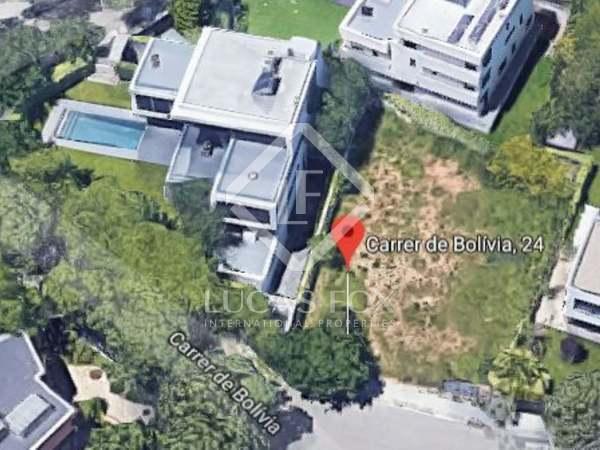 Parcel·la de 597m² en venda a Esplugues, Barcelona