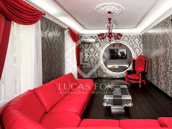 Luxury furnished flat for rent in Madrid