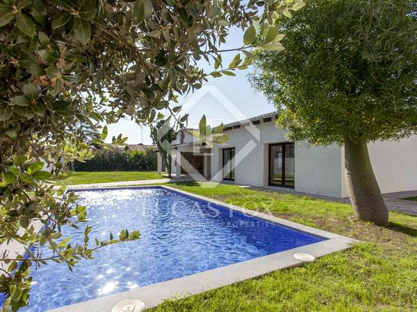 230 m² house with 800 m² garden for rent in La Eliana