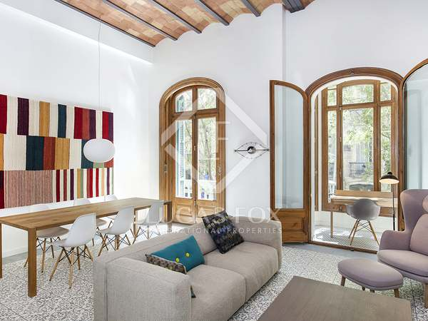 3-bedroom apartment for rent in Eixample Right