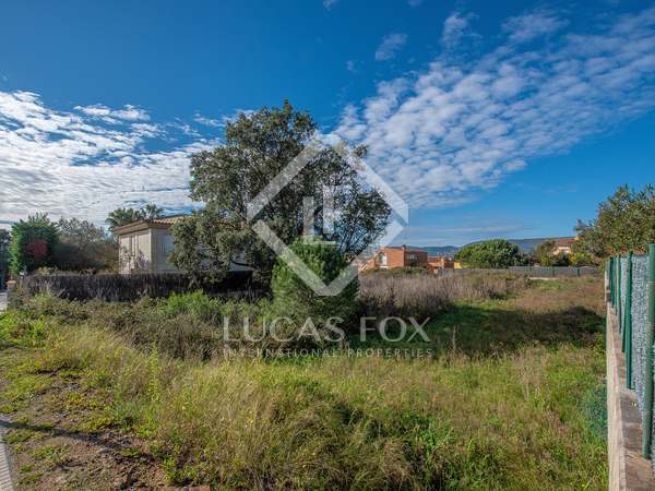 1,080m² Plot for sale in Calonge, Costa Brava