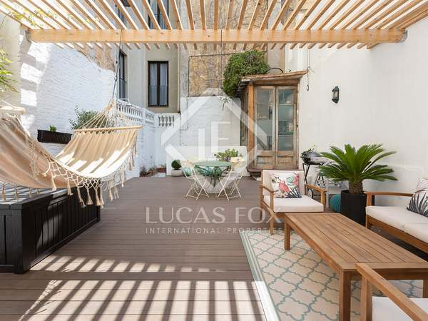 174m² Apartment with 72m² terrace for sale in El Raval