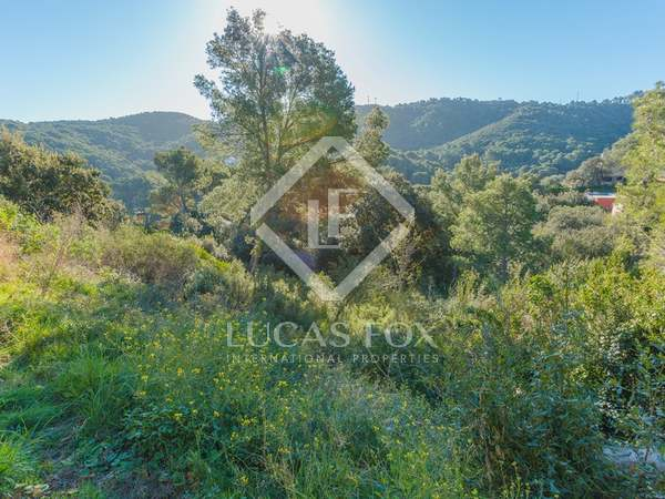 976m² urban plot for sale in Begur on the Costa Brava