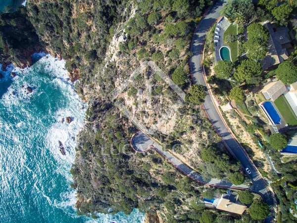 Продажа земельных участков на первой линии моря на побережье Коста Брава, Испания