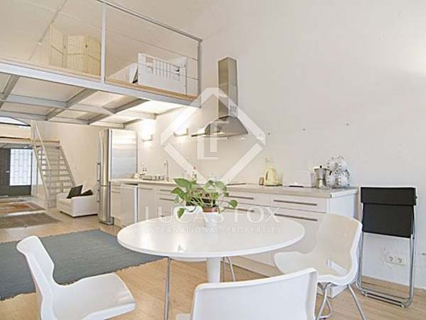 Loft for rent in the Raval, Barcelona