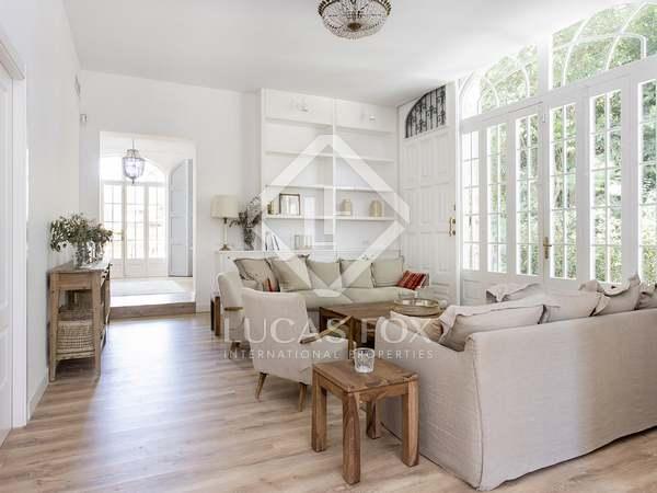 400m² House / Villa with 6,000m² garden for rent in Sant Gervasi - La Bonanova