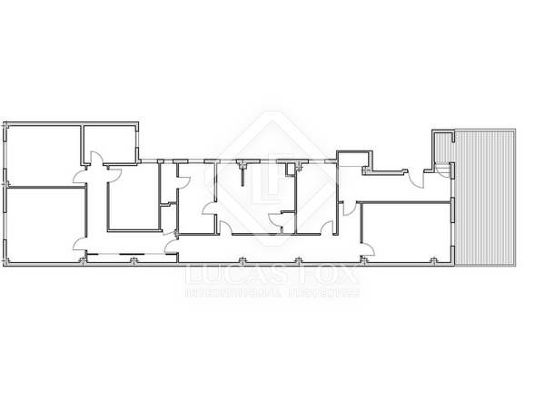 170 m² penthouse with a terrace for sale in El Pla del Remei