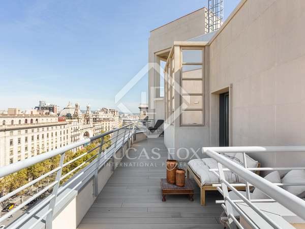 Penthouse de 184m² a vendre à Eixample Gauche avec 84m² terrasse