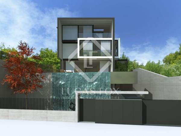 Casa lujosa nueva en venta. Sant Cugat, cerca a Barcelona