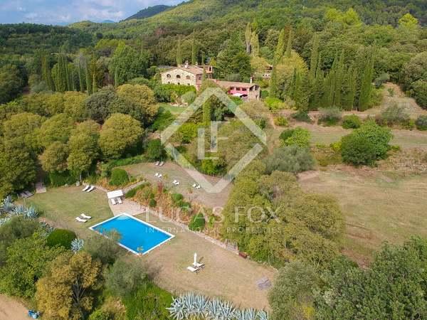 Maison rurale de luxe à vendre dans la province de Gérone. Propriété à acheter en Espagne.