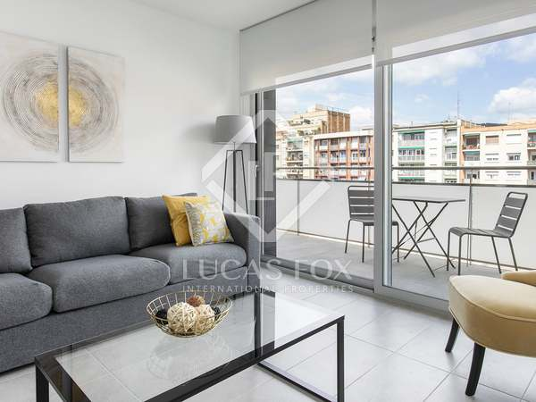 75 m² apartment with 25 m² terrace for rent in Les Corts