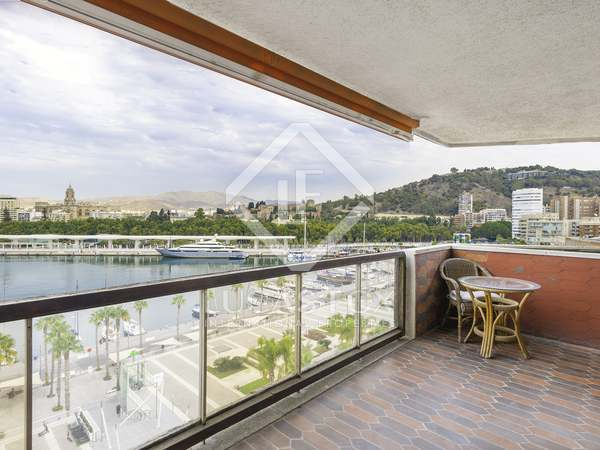 135m² Apartment with 13m² terrace for sale in Centro / Malagueta