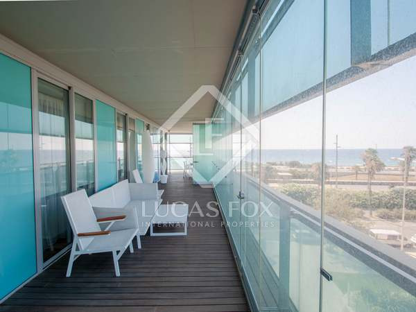 appartement van 170m² te koop met 76m² terras in Diagonal Mar