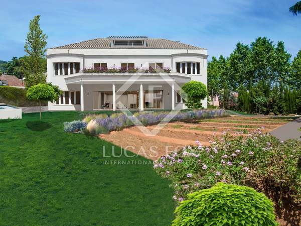 Large villa to complete for sale in Argentona, Maresme