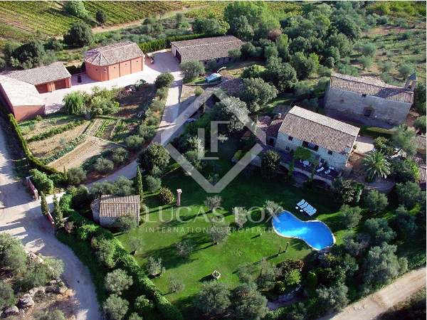 Girona Vineyard and country estate for sale, Alt Emporda