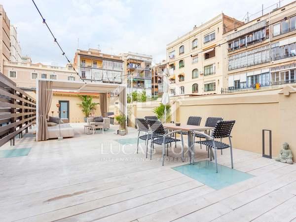 Apartamento de 90 m² con terraza en venta en calle Aragó