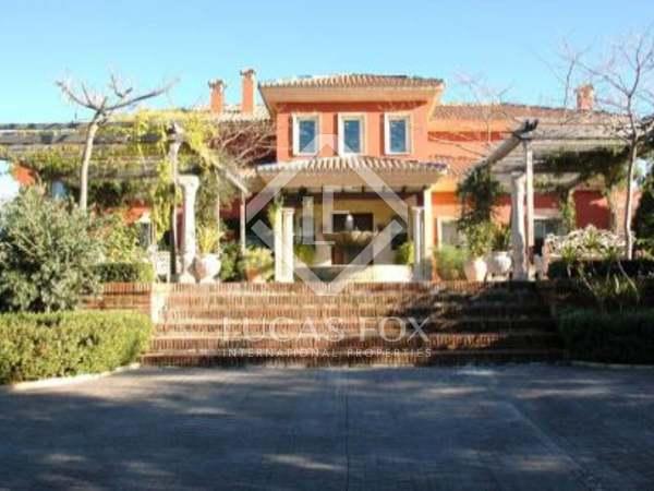 Underbar 2.500 hektar jaktegendom till salu i Málaga