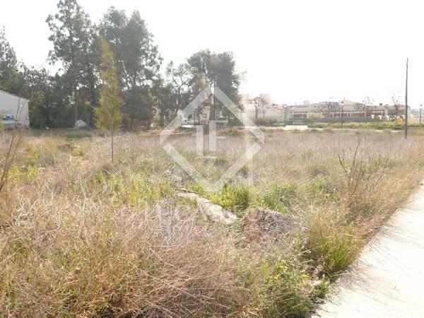 Terrain à bâtir de 2,609m² a vendre à Godella / Rocafort
