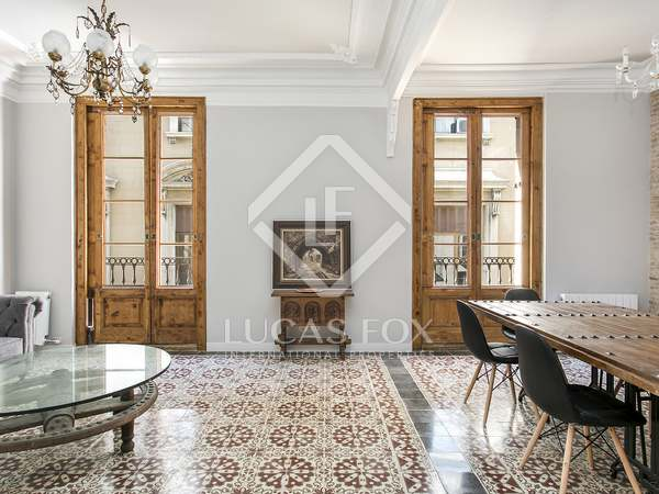 3-bedroom renovated apartment for rent in Barcelona Port