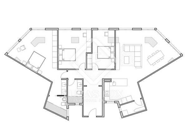 135 m² apartment for sale in Ruzafa, Valencia