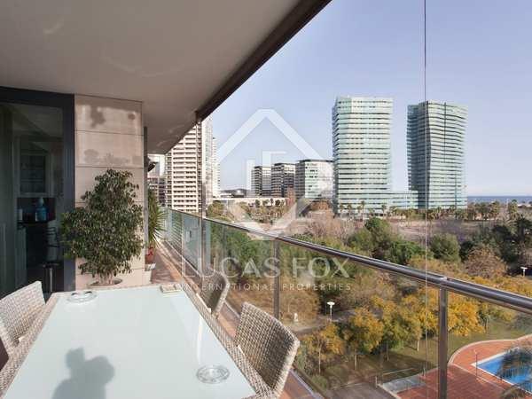 Appartement van 136m² te huur met 20m² terras in Diagonal Mar