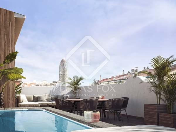 Penthouse van 204m² te koop met 75m² terras in Eixample Rechts