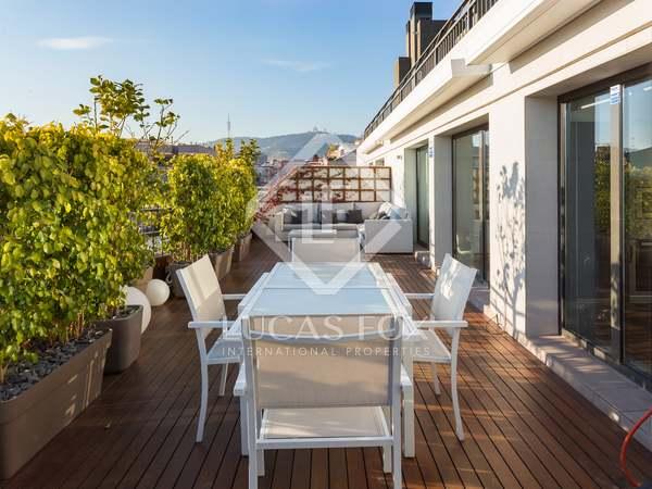 Ático de 105 m² con 41 m² de terraza, en venta en Turó Park
