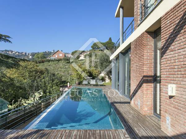 417m² Landhaus mit 111m² terrasse zum Verkauf in Sarrià