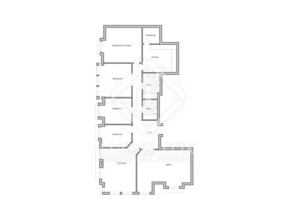 170 m² apartment for sale in Sant Francesc, Valencia