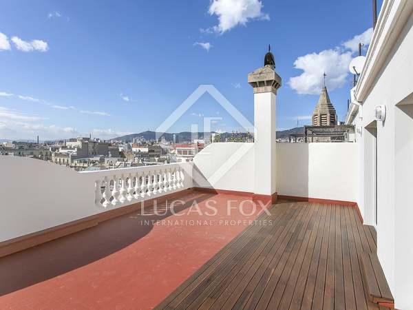 在 Eixample Left, 巴塞罗那 144m² 出租 顶层公寓 包括 101m² 露台