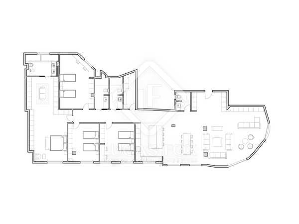 Appartement van 237m² te koop in Sant Francesc, Valencia